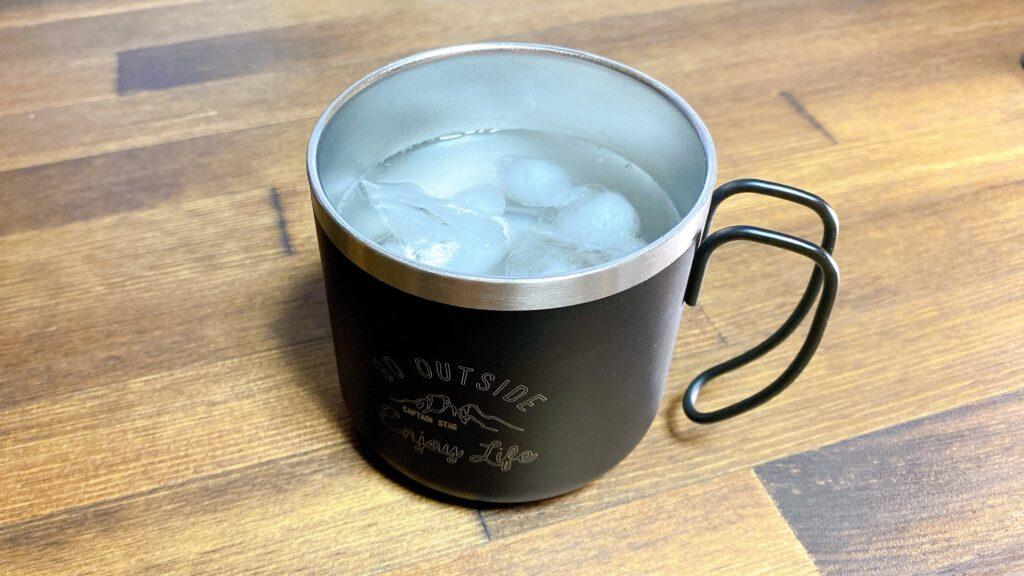 キャプテンスタッグマグカップ 氷